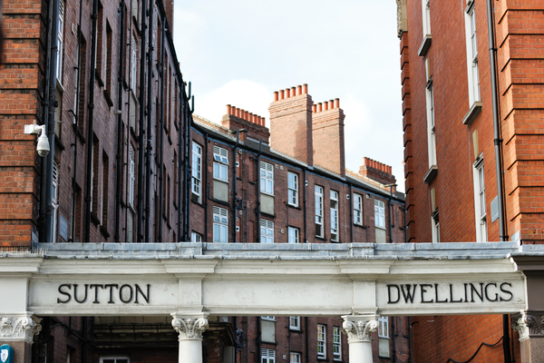 Entrance to Sutton Estate