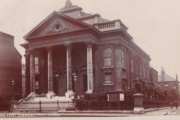 New Court Congregational Chapel c. 1905, view from Tollington Park
