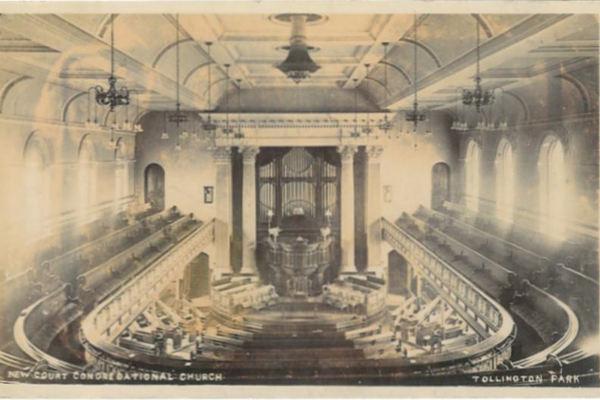 New Court Chapel interior (pre-1920)