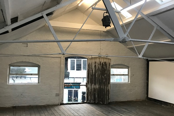 Internal view of The Loft, The Old Stables