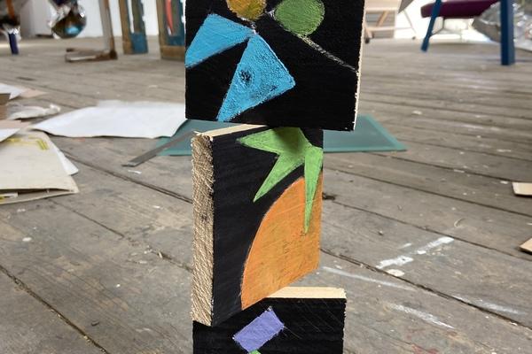 A Simone Radclyffe sculpture at The Loft