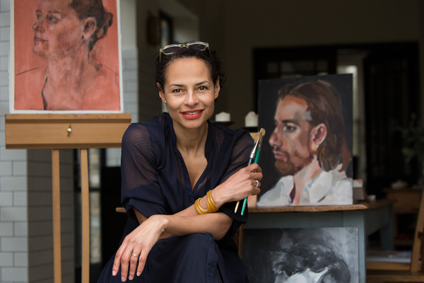Jacqueline Douglas (artist & textile designer, Musical Museum)