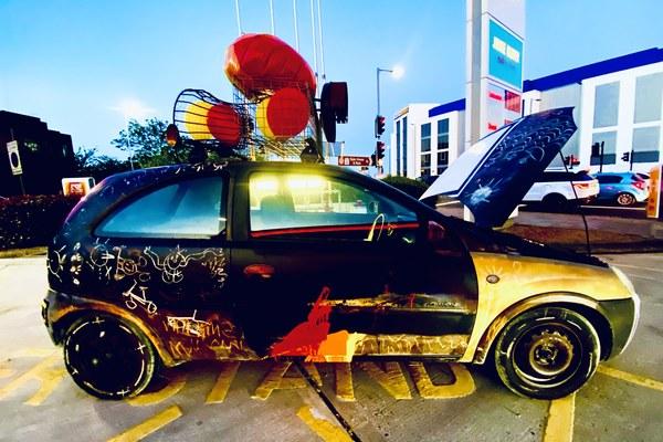 Tom Morley's Art Car