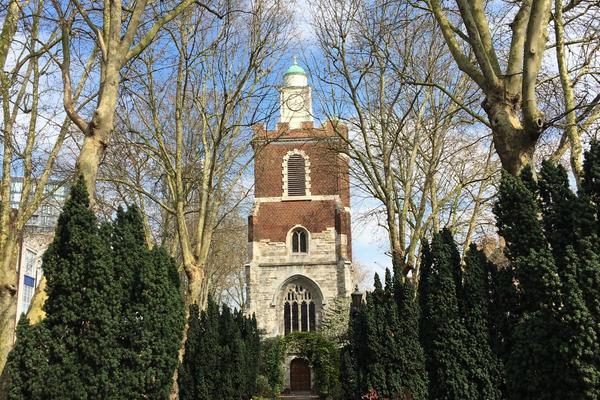 The churchyard in Spring
