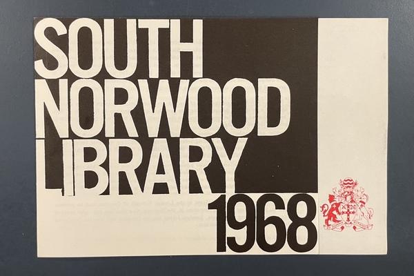 Original opening flyer 1968
