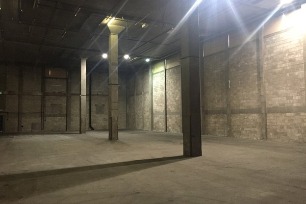 The former ground floor storage space in Building F