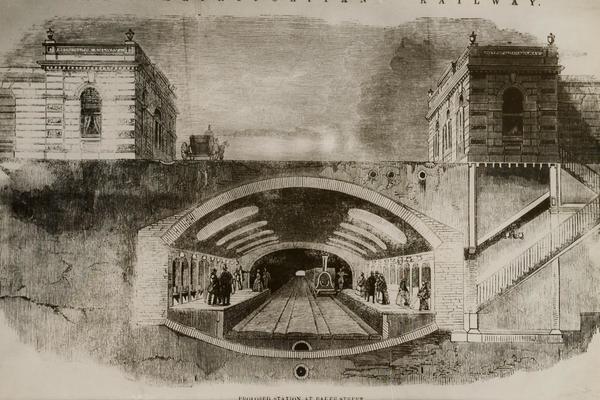Illustration of Baker Street station