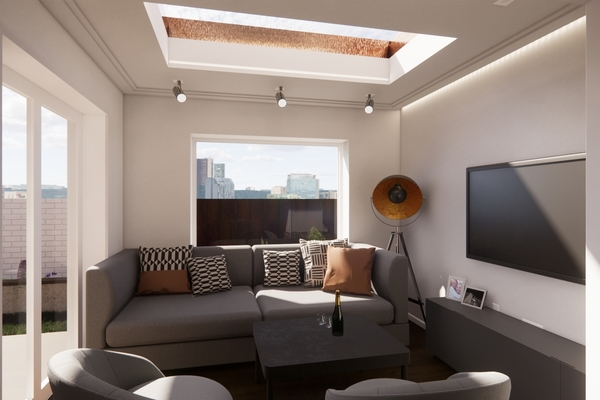 Visual - Extension living room