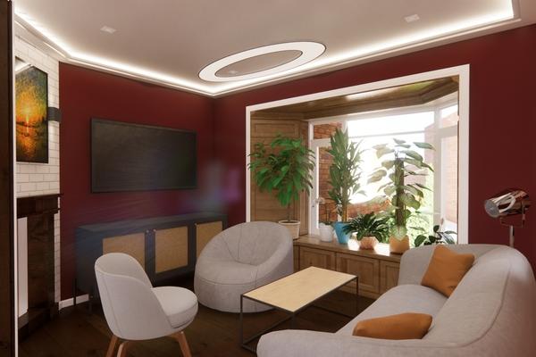Visual - Reception room