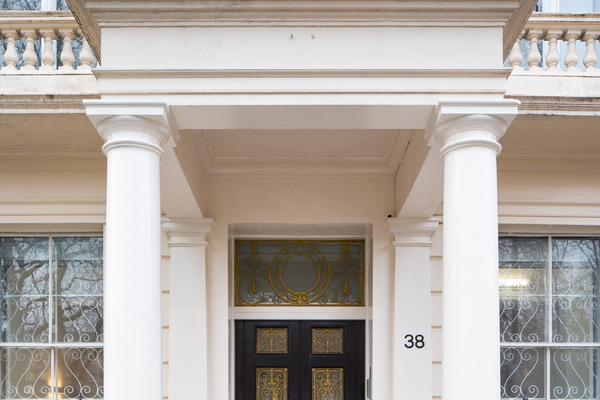 Front Door of 38 Grosvenor Square