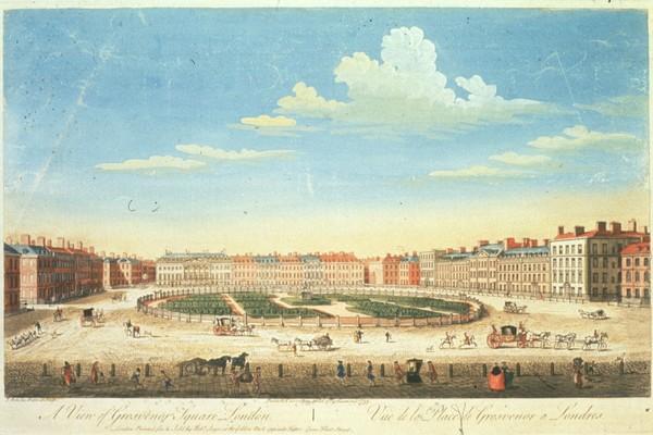 Grosvenor Square historic painting