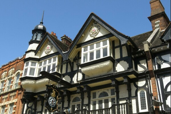 Star and Garter - Arts & Crafts architecture at its most flamboyant