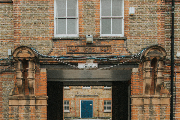 Admin Block facade, viewing from centre of St Ann's site