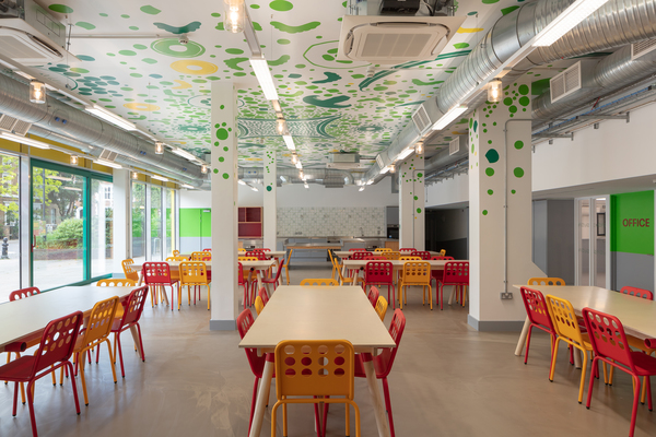 Nourish Hub Dining Space