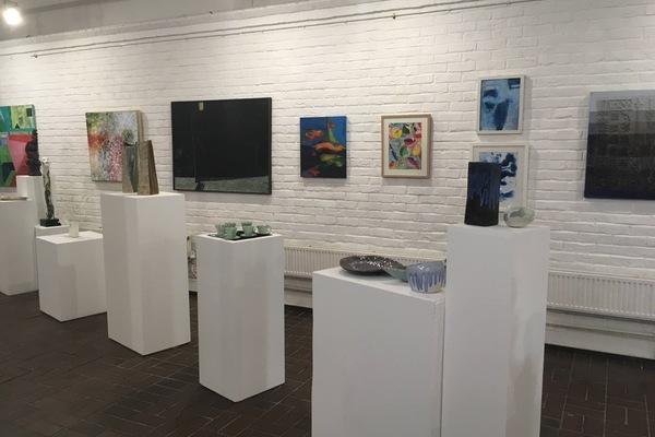 Redlees Open Studios exhibition space