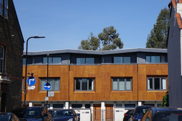 3. Modern residential development on Mountfield Road