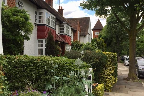 7. Brentham Garden Estate; typical housing