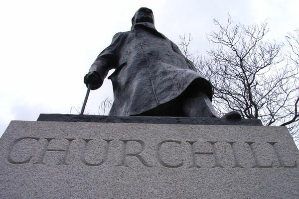 Sculpture Wars 'Churchill'