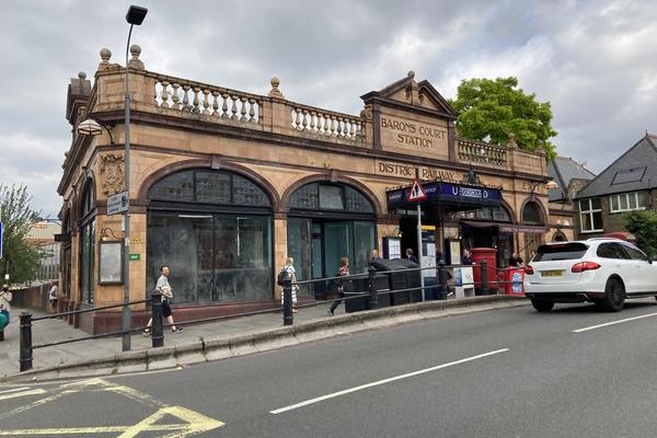 1. Barons Court Station