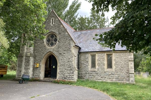 7. Margravine Cemetery, the former Non-Comformist chapel