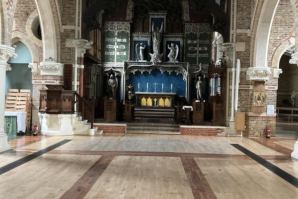 10. St Andrew's Church sanctuary