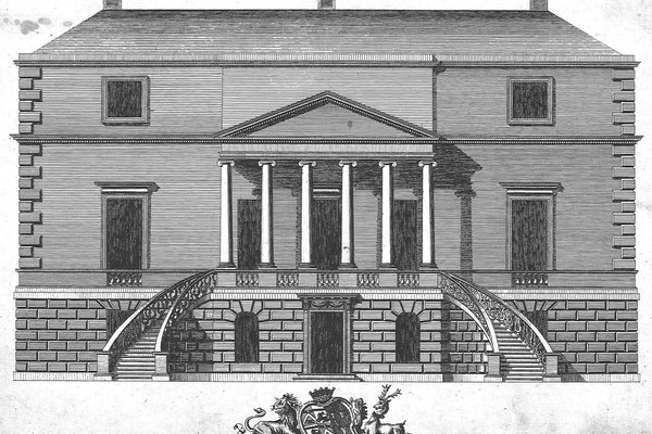 Chambers esign fpr Parkstead, Vitruvius Britannicus