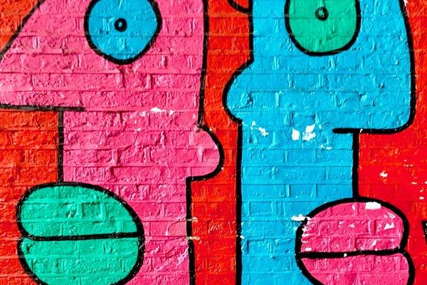 Frenchman Thierry Noir is the elder statesman of the street art scenee.