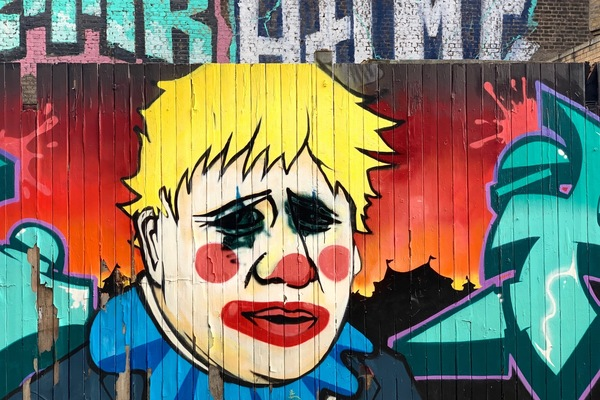 Some of the best street art takes no prisoners, Fashion Street, E1.