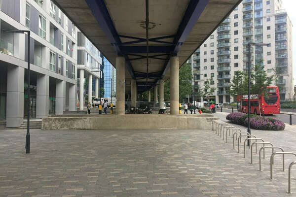 Underline - view of a recently redeveloped space