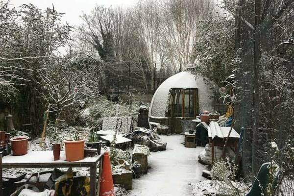 Canal Club community garden dome