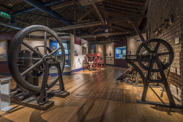 Museum of London Docklands interior 2