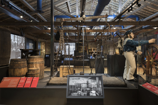 Museum of London Docklands interior