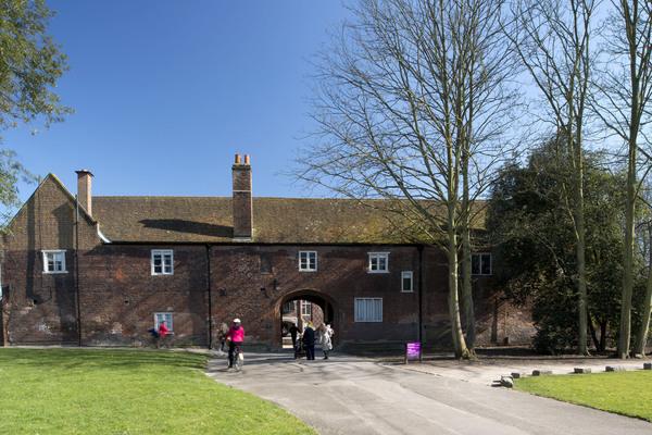 West range of west courtyard