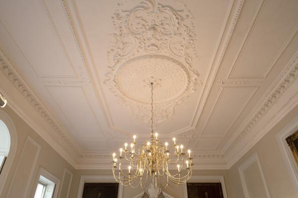 Rococo ceiling Bishop Sherlock's Room