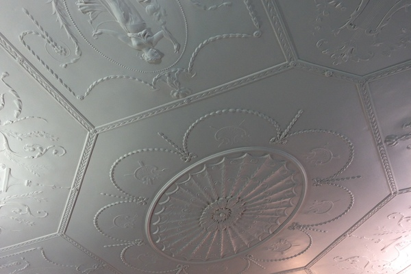 Ceiling of the old Library