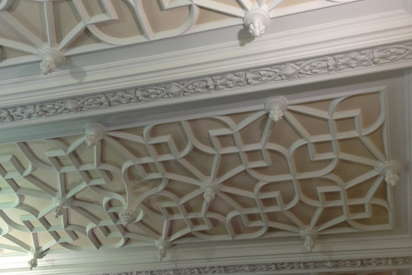 Ceiling of the old Dining Room