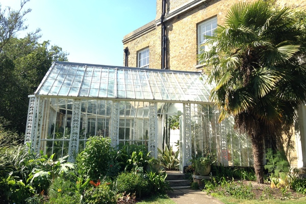 The adjoining Conservatory
