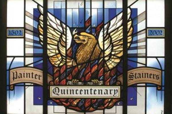 Quincentenary stained glass window