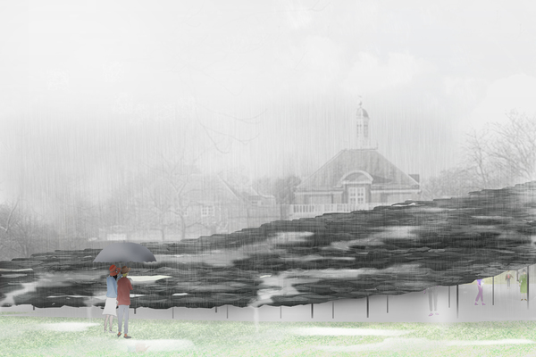 Serpentine Pavilion 2019, Design Render, Exterior View