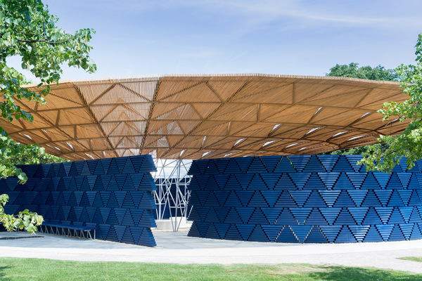 Serpentine Pavilion 2017, designed by Francis Kéré. Serpentine Gallery, London (23 June – 8 October 2017)
