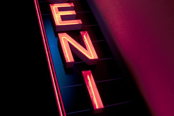 Phoenix neon sign