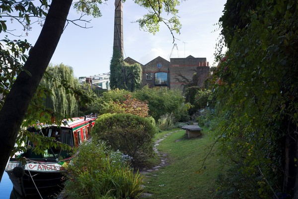 Diespeker Wharf's award winning garden