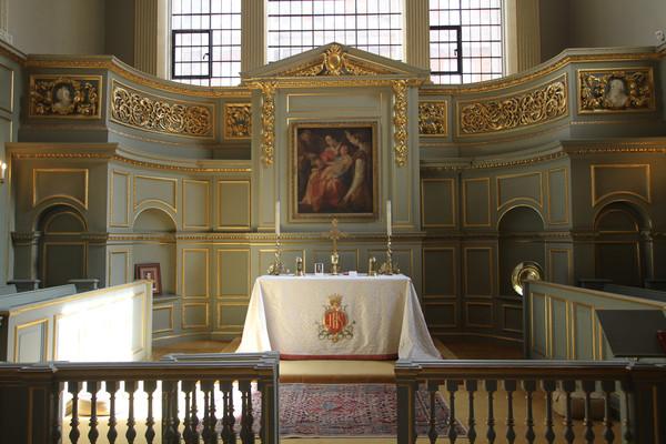 Queen's Chapel Interior