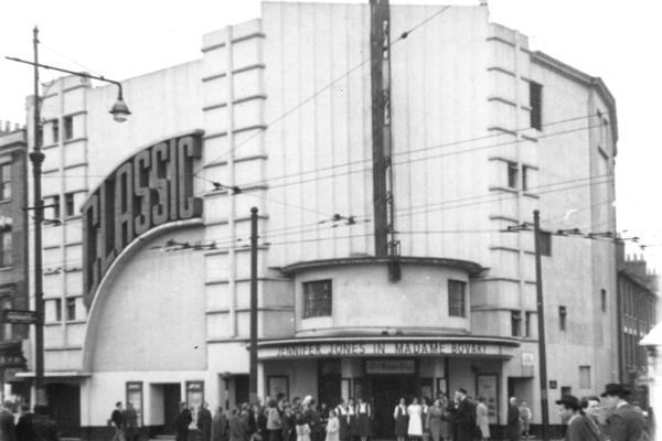 The Classic Cinema Dalston in 1950