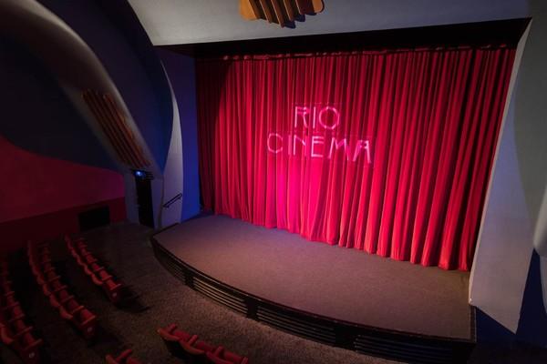 Rio Cinema Dalston auditorium from the circle