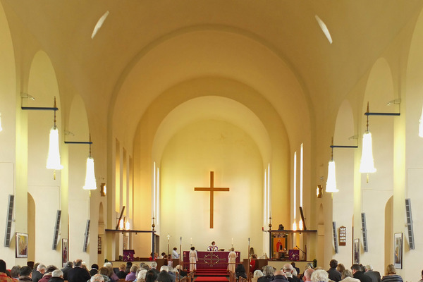 Interior Looking East