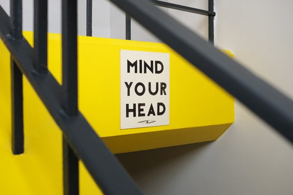 Mind Your Head - Concrete Stairwell