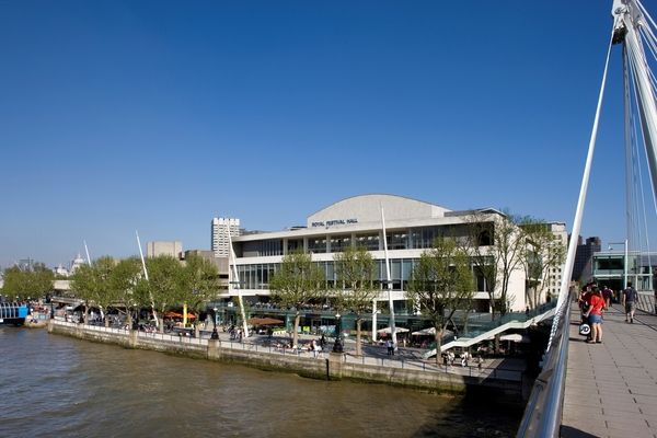 Royal Festival Hall from Hungerford Bridge