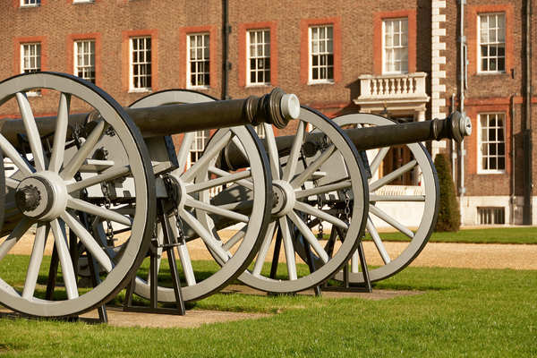 Cannons on the South Terrace