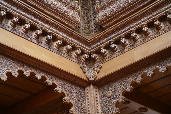 Haveli Interior Detail